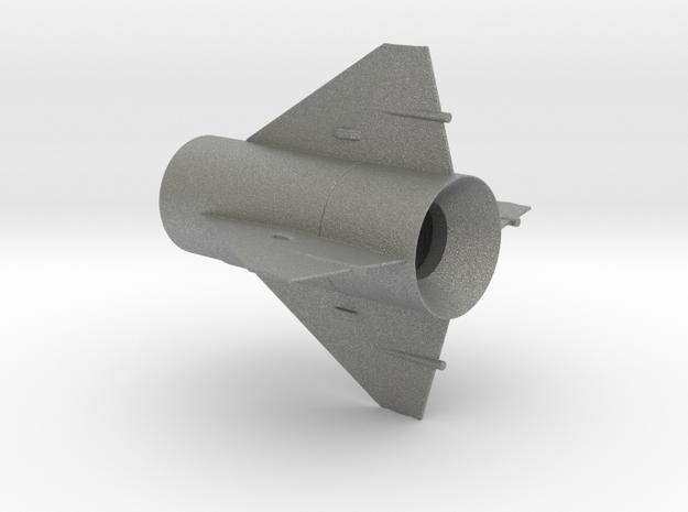 Little John Fin Unit BT50 for 13mm motors in Gray PA12