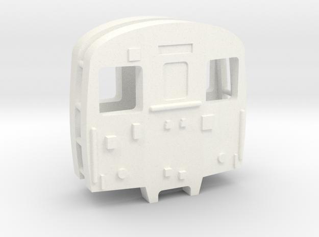 3mm Scale Class 302 Cab in White Processed Versatile Plastic