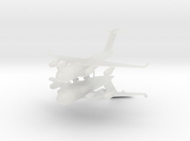 1/700 C-17 Globemaster III (2x) in Smooth Fine Detail Plastic