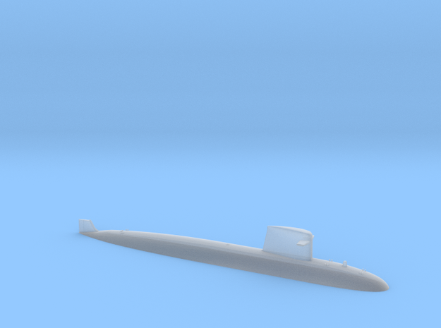 SSN Rubis 1:1250 in Smooth Fine Detail Plastic