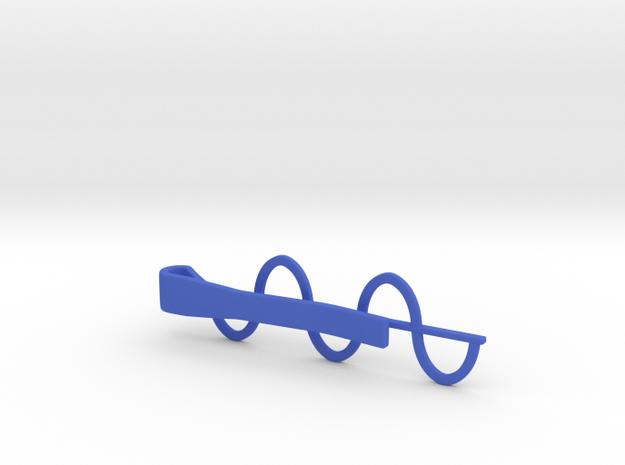 Sine Wave Tie Bar (Plastics) 3d printed