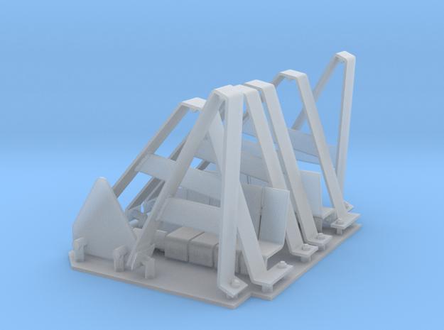 StuG IV Sch眉rzen hangers 1:15 in Smooth Fine Detail Plastic