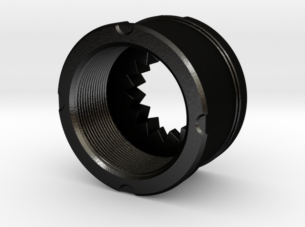 LCP107-R-VT-SP, Drive Retainer in Matte Black Steel