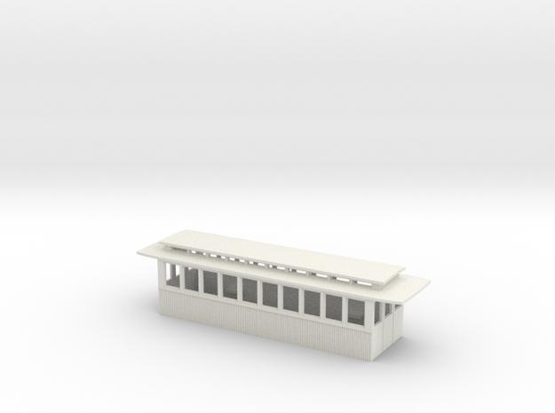 Gehäuse Beiwagen Alt in White Natural Versatile Plastic