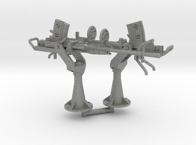 2 X 1/56 IJN Type 96 25mm Single Mount in Gray PA12