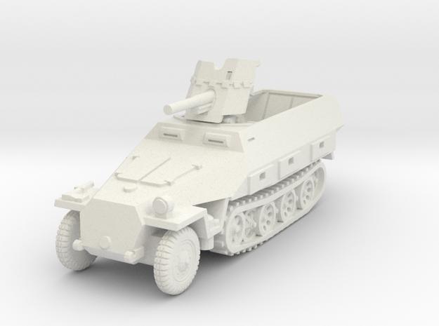 Sdkfz 251/10 D Pak 36 1/72 in White Natural Versatile Plastic