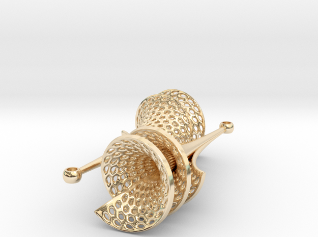 Dini's Surface Earrings 3d printed