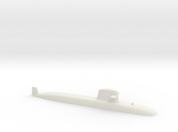 Scorpene 1:700 in White Natural Versatile Plastic