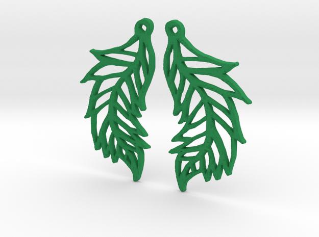 :Featherflight: Earrings 3d printed