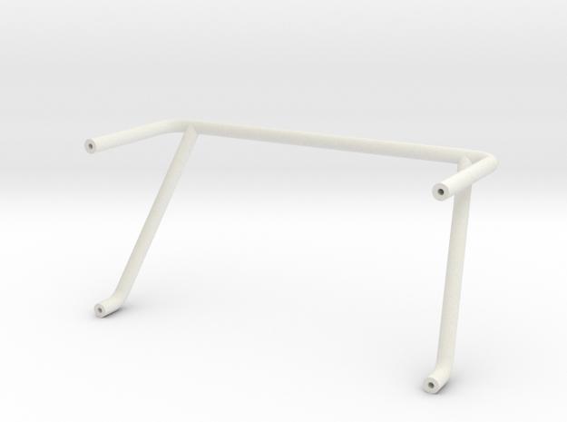 Vanquish VS4-10 Simple Roll Bar in White Natural Versatile Plastic