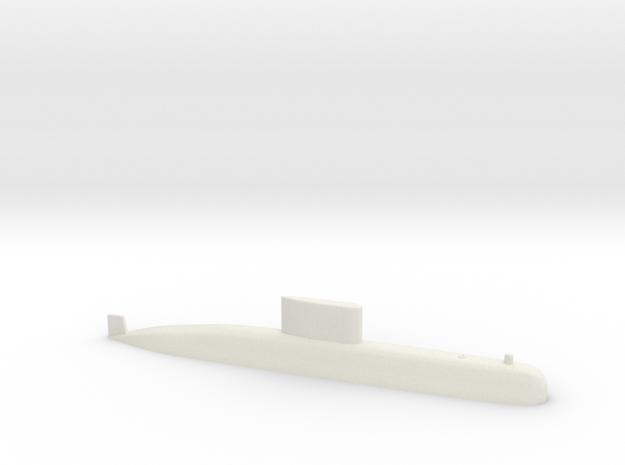 Type 209 1:700 in White Natural Versatile Plastic