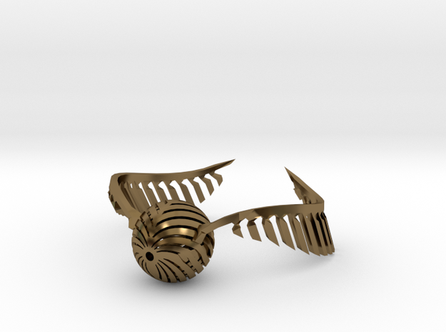Harry Potter Golden Snitch  3d printed