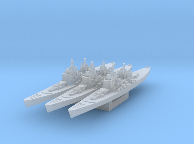 HMS Lion 1944 1/4800 in Smooth Fine Detail Plastic