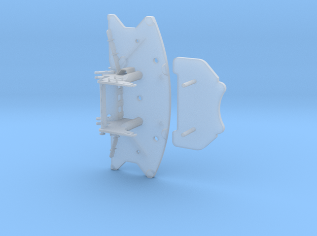 Ballastgrundplatte für Kran similar GMK6400 in Smooth Fine Detail Plastic