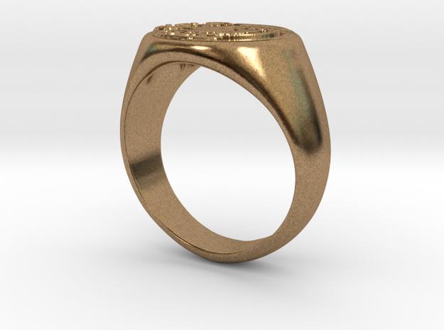 Size 7 Targaryen Ring 3d printed