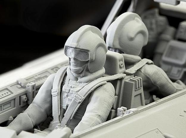 Pilot for AMT/ERTL/MPC Snowspeeder in Smooth Fine Detail Plastic