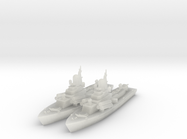 1/600 Nanuchka 1 Missile Corvette x2 in Frosted Ultra Detail