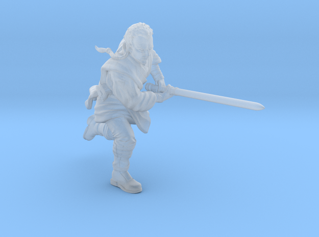 young wizard saber in Smooth Fine Detail Plastic