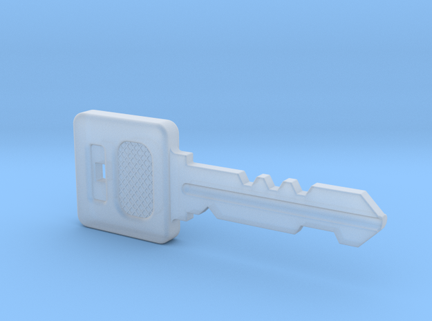 Resident Evil Graveyard Key in Smooth Fine Detail Plastic