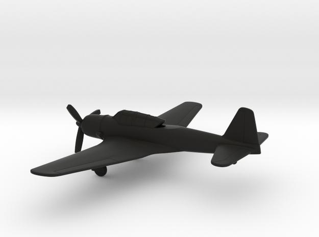 Mansyu Ki-71 Edna in Black Natural Versatile Plastic: 1:160 - N