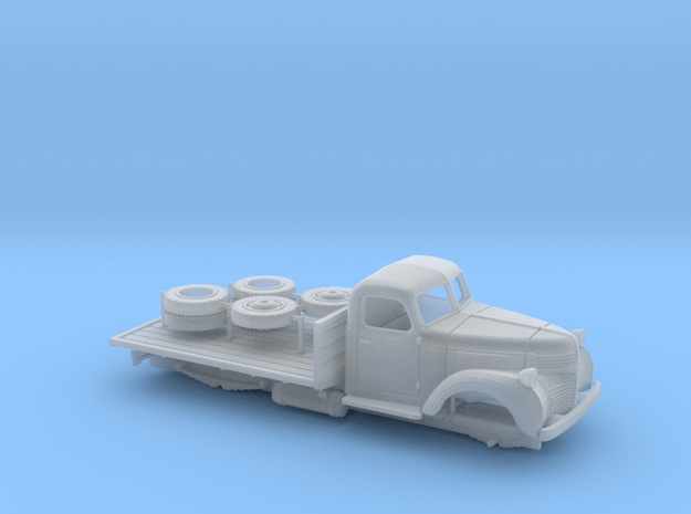 OO - 1:76 Dodge Flatbed in Smoothest Fine Detail Plastic