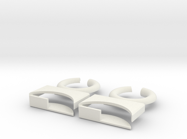 lock-puzzle-pieces in White Premium Versatile Plastic