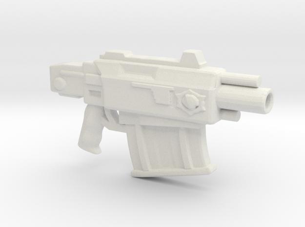 Bolt Pistol version20percent in White Natural Versatile Plastic