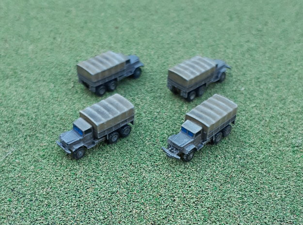 M125 & M125A1 Heavy Trucks 1/285 in Smooth Fine Detail Plastic