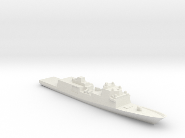 Fincantieri FFG(X) Wargaming in White Natural Versatile Plastic: 1:2400
