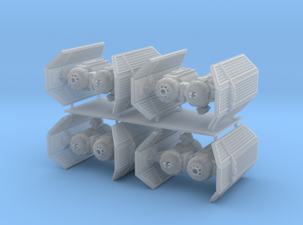 1/350 Tie Bomber Four Pack in Smooth Fine Detail Plastic