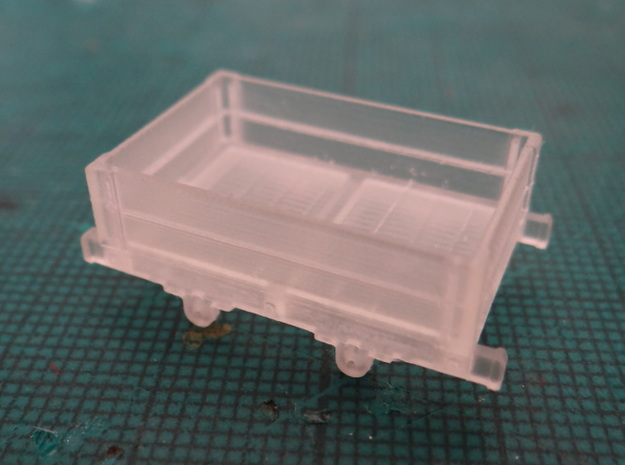 Aberllefenni Box Wagon (x3) 3d printed Straight From The Printer