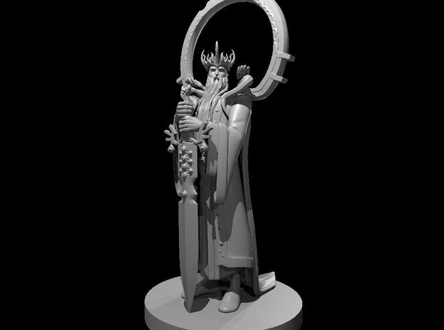 Celestial King in Smooth Fine Detail Plastic