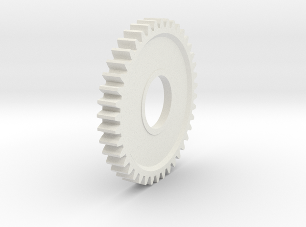 HPI A447 Gear (plastic and Steel both available)  in White Natural Versatile Plastic