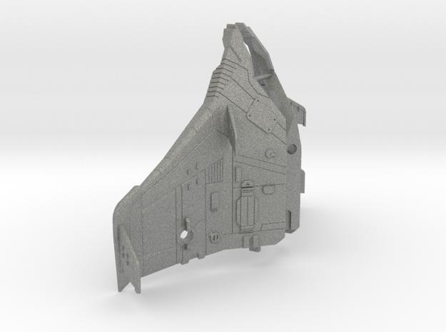 Tetrajet Thrust wings in Gray PA12