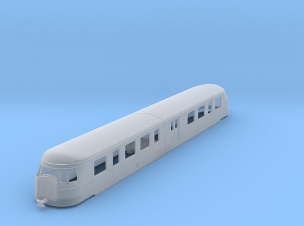 bl160-billard-a150d2-artic-railcar in Smooth Fine Detail Plastic