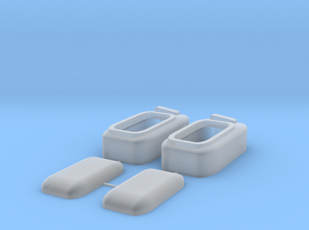 1:10 - Car Interior Light / Auto Innenraumleuchte in Smooth Fine Detail Plastic