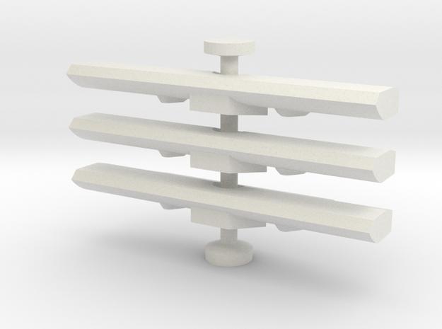 RC2 PEQ Locking Piece in White Natural Versatile Plastic