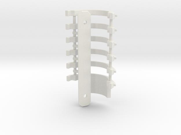 Graflex GMM Chassis - Part19  - Energy Shields in White Natural Versatile Plastic