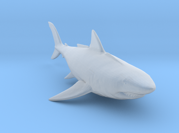 Megalodon in Smooth Fine Detail Plastic