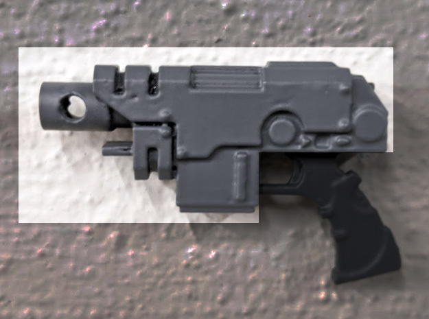 PRHI Large Sidearm Pistol- Body in Black PA12