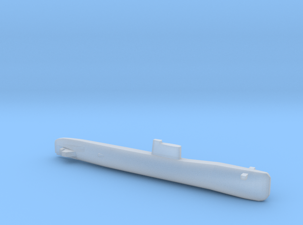 Tango-class SSK, Full Hull, 1/2400 in Smooth Fine Detail Plastic