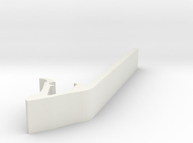 Drum Tool Revised in White Natural Versatile Plastic