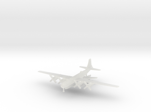 1/700 Bell X-2 with B-50D Mothership in Smooth Fine Detail Plastic