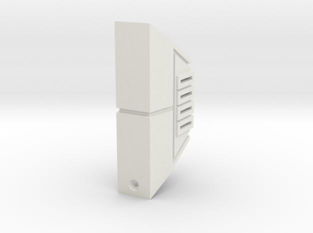 DS emitter in White Natural Versatile Plastic