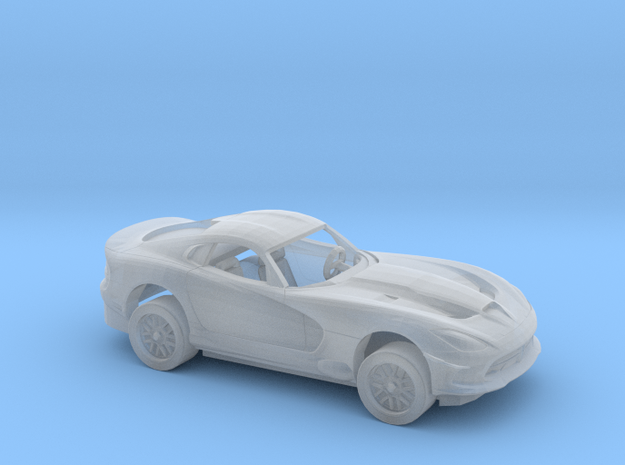 1/87 2011 Dodge Viper Kit in Smooth Fine Detail Plastic
