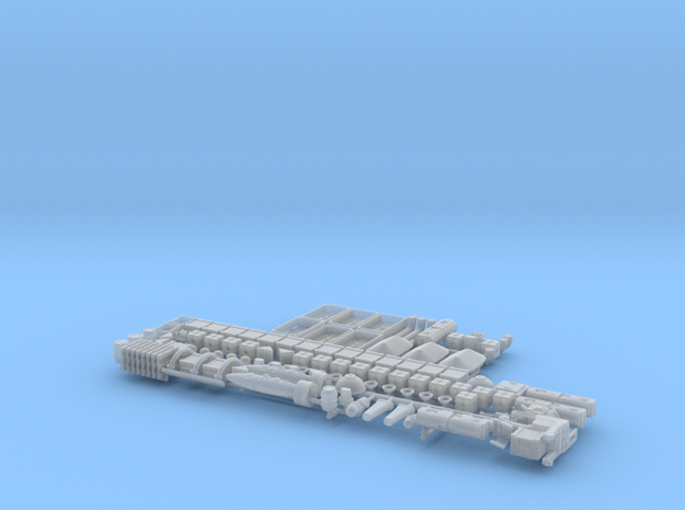 Docking Bay 9 4, 1:72 Complete in Smooth Fine Detail Plastic