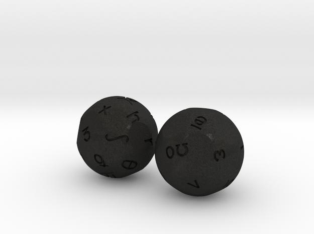 Phonems Set 3d printed