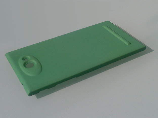 The Other Side Camera Protector for Jolla phone -  in Green Strong & Flexible Polished