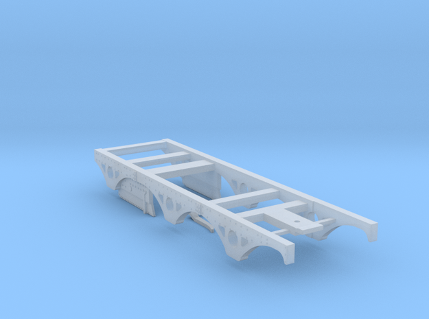 BROAD - 0-6-0 Dido - Chassis in Smooth Fine Detail Plastic