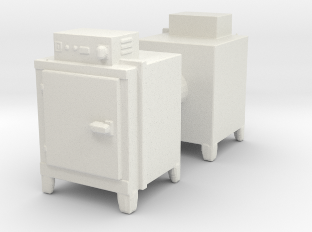 Hot Air Oven (x2) 1/64 in White Natural Versatile Plastic